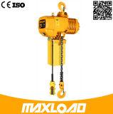 Elektrische het Type van Haak van de Industriële Bouw van Maxload 2t