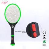 Swatter de venda quente recarregável do mosquito com lanterna elétrica do diodo emissor de luz
