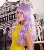성과와 Cosplay를 위한 다채로운 방열 합성 머리 가발