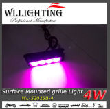 4 LED Purple Surface Mount LED Light