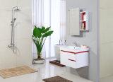 光沢度の高く白い浴室の虚栄心のキャビネットの浴室