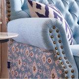 Amerikanisches Land-Art-Gewebe-Sofa für Wohnzimmer-Möbel M3009