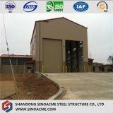 倉庫のための容易なインストール鉄骨構造のプレハブの建物