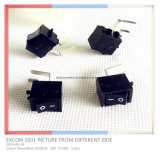Ss01 Bending Terminal Power Rocker Switch para televisão STB Control Power Switch