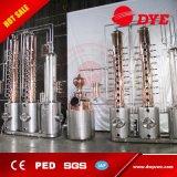El destilador caliente del crisol del alcohol ilegal del alcohol del Brew casero de la venta todavía con el PED aprobado hace etanol el Cookware de cobre