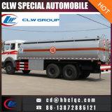 Caminhão de tanque resistente da gasolina do petroleiro do caminhão do petróleo de 16mt 20mt