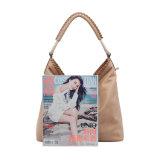 Grande saco de hobo para mulheres de moda Khaki