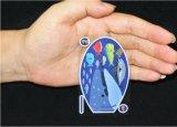 Cartões de jogo plásticos do PVC de Transferant do mundo submarino
