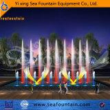 Fuente cambiable de la música decorativa ligera urbana de la construcción LED