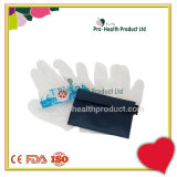 Mit Vinyl Handschuh-Mund Mouth Einwegventil CPR-Erweckung Keychain Installationssatz