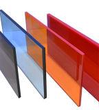 Hoja de acrílico del plexiglás flexible de PMMA MMA picosegundo para el caso de visualización de acrílico (1 2 3 4 50m m)