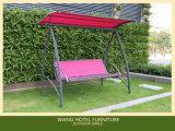 Jardim para a mobília ao ar livre do balanço de vime do Rattan