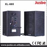 A melhor venda XL-665 para os altofalantes ao ar livre 60W ativo do estádio da instrução
