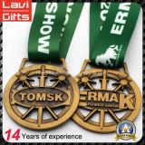 連続したマラソンのスポーツの金属メダルを競争させる安い習慣