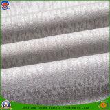 Home Textile Flocage imperméable à l'eau Tissu en rideau en polyester tissé noir