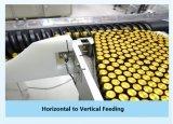 Integrierte helle Inspektion und Etikettiermaschine mit Flasche-zu-Tellersegment und StrohInserter