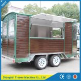 Ys-Fw450 Mobile Kitchen Van Fast Food Cart