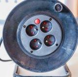 De Stop van Schuko van de Spoel van de Kabel van het Type van Duitsland met VDE Kabel h05vv-F 3G1.5mm2 25/50m Euro 4-afzet Contactdozen
