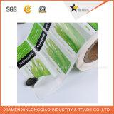 Il documento impermeabile personalizzato ha stampato l'autoadesivo dell'acqua minerale di stampa del contrassegno della bottiglia