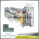 Automatische kleine Beutel-Befestigungsteil-Teile, Handelsmetalteil-Verpackmaschine