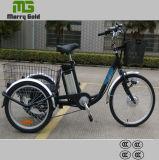 أماميّة [24ينش] إطار العجلة عجلة شحن درّاجة ثلاثية كهربائيّة