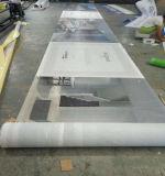 Großes Format, das Barrikade-Grafik-Ineinander greifen-Fahnen-Drucken bekanntmacht