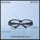 タイプの二酸化炭素レーザーのフレーム55が付いている保護めがねの安全ガラスを遊ばす