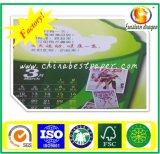 Papel de tarjeta de marfil de FBB-C1S para el rectángulo de los cosméticos