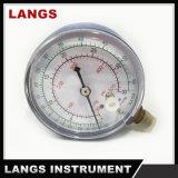 '' calibrador de presión refrigerante de Freón del vector 042 2.5