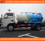 Dongfeng 4*2 Abwasser-Absaugung-LKW mit Vakuumpumpe