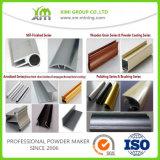 Fabricante Madeira em grão Poliéster Perfil em alumínio em pó Revestimento