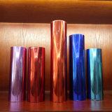 Película material da folha de carimbo das cores para o plástico e o papel