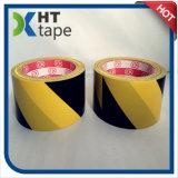 黒くおよび黄色カラーPVC粘着テープ