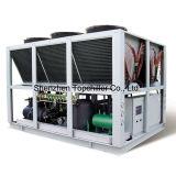 abkühlender abgekühlter Wasser-Kühler der Kapazitäts-250HP Luft in der Plastikfabrik