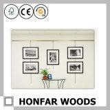 Modernes Hotel-Wand-Dekoration-Schwarz-hölzerner Abbildung-Foto-Rahmen
