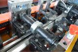 はえが付いている機械を形作る鋼鉄八角形シャフトの管は切断を見た