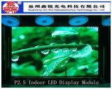 Module polychrome d'intérieur 192mm*192mm d'étalage d'écran de P3 DEL