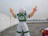 최신 판매 미국 K2098에 팽창식 축구 선수 풍선