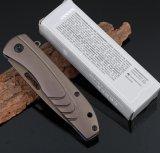 고품질 다기능 접힌 옥외 칼 황야 생존 칼