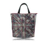Gris Niebla lienzo diseños de bolsas para hombres y mujeres Accesorios