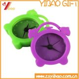 Promoção Presentes Multi-Color Mini Lovely Silicone Alarm Clock