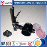 Válvula de borboleta do assento do aço de molde PTFE