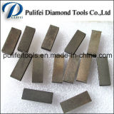 화강암 대리석을%s 구획 모양 다이아몬드 돌 절단 도구 세그먼트