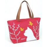 Bello Tote del sacchetto di spalla della borsa del sacchetto di acquisto della tela di canapa di modo