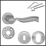 ステンレス鋼の鋳造の投資のドアのレバーハンドル