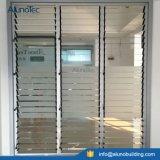 Aluminiumglasblendenverschluss-Luftschlitz-Fenster