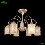 Lampada dell'interno del lampadario a bracci del ferro di illuminazione per l'hotel