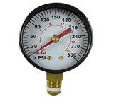 calibrador de presión de 300psi 21bar para las piezas del compresor de aire