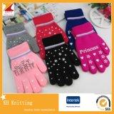Новые перчатки Knit зимы перчатки iPhone экрана касания волшебные