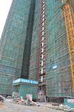 De Lift van het Hijstoestel van de Machines van de bouw met CH-540 en 2 Kooien